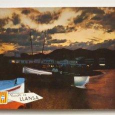 Postales: LLANÇÀ - CAPVESPRE / ATARDECER - P65286. Lote 289503458