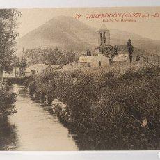 Postales: 39.CAMPRODON( ALT.950 M) / EL MONASTIR/ L.ROISIN/ ORIGINAL DE ÉPOCA/ SIN CIRCULAR/ ( REF.A.3). Lote 289519543