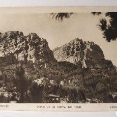 Postales: SEO DE URGELL/ PICOS DE LA SIERRA DEL CADÍ/ FOTO NURI/ ORIGINAL DE ÉPOCA/ CIRCULADA/ ( REF.A.3). Lote 289520458