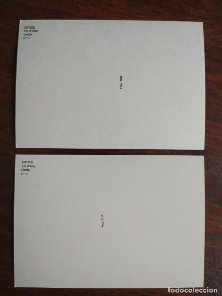 Postales: Una postal de Artiés municipio de Alto Arán, del terçon de Arties e Garòs 2 tarjetas a elegir - Foto 4 - 289739118
