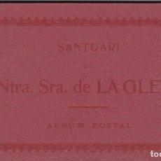 Postales: BARCELONA, NTRA. SRA. DE LA GLEVA. BLOC POSTAL COMPLETO CON 20 POSTALES. ED. ANGEL TOLDRA VIAZO. Lote 289892808