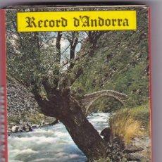 Postales: ANDORRA. BLOC POSTAL DESPLEGABLE CON 21 POSTALES PANORAMICAS. NO CONSTA EDITOR. Lote 289895613
