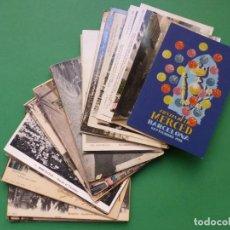 Postais: BARCELONA - 56 POSTALES, ANTIGUAS - VER FOTOS ADICIONALES. Lote 291837103