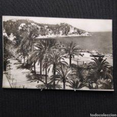 Postales: LLORET DE MAR (COSTA BRAVA) 105 PLAYA TROPICAL FOTO MARTÍNEZ. Lote 292273843