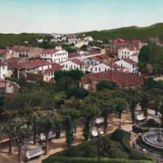 Cartoline: BARCELONA, CASTELLTERSOL VISTA PARCIAL. ED. PAPELERIA J. CIURÓ Nº 4. BYN COLOREADA. CIRCULADA. Lote 293273108