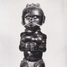 Cartoline: BARCELONA, MUSEO ETNOLÓGICO - MON E BIANG, ESTATUILLA DE ANTEPASADO, GUINEA - MUSEO Nº5 - S/C. Lote 293419288