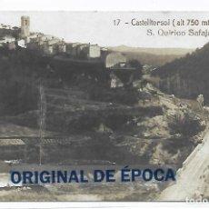 Postais: (PS-66522)POSTAL FOTOGRAFICA DE CASTELLTERSOL-S.QUIRICO SAFAJA. Lote 293568238