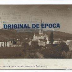 Cartoline: (PS-66524)POSTAL FOTOGRAFICA DE CASTELLAR DEL VALLES-VISTA PARCIAL Y MONTAÑA DE SAN LORENZO. Lote 293604578