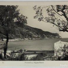 Postales: GERONA, BAGUR. FORNELLS Y AIGUA BLAVA. FOTO REAL. JUANOLA.. Lote 294111858