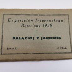 Postales: P-12883. EXPOSICION INTERNACIONAL BARCELONA 1929. PALACIOS Y JARDINES. SERIE II.. Lote 294279988