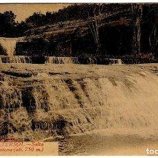 Postales: CASTELLTERSOL - SALTO DE MOLÍ DE BROTONS (ALT. 750 M.) - L. ROISIN Nº 19 - 140X89MM.. Lote 294368583