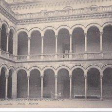 Postales: BARCELONA, PATIO DE LA UNIVERSIDAD. ED. HAUSER Y MENET Nº 1152. REVERSO SIN DIVIDIR. SIN CIRCULAR. Lote 294436803