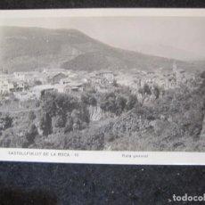 Postales: CASTELLFULLIT DE LA ROCA-VISTA GENERAL-FOTOGRAFICA-POSTAL ANTIGUA-(84.998). Lote 294441798