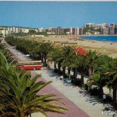 Postales: TARRAGONA, SALOU. PASEO DE JAIME I, BUS, AUTOBÚS. RAYMOND. SELLO 1968. Lote 294451263