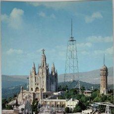 Postales: BARCELONA, TIBIDABO VISTA EN HELICÓPTERO. CYP SIN CIRCULAR.. Lote 294452803