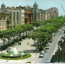 Postales: POSTAL TARRAGONA - AVENIDA DEL GENERALISIMO - RAYMOND 1961 - CIRCULADA (COCHES). Lote 294453208