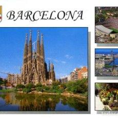 Postales: Nº B0115. BARCELONA. DIVERSOS ASPECTOS. EDICIONES A. CAMPAÑÁ. Lote 294459688