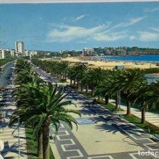 Postales: TARRAGONA, SALOU PASEO JAIME I. RAYMOND. CIRCULADA SALOU 1974. Lote 294475393