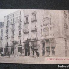 Postais: LLEIDA-PLAZA DE LA LIBERTAD-COL· URRIZA-POSTAL ANTIGUA-(85.112). Lote 294490748