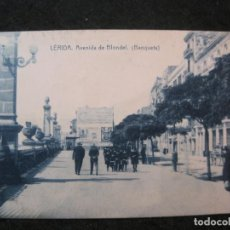 Postais: LLEIDA-AVENIDA DE BLONDEL-THOMAS-POSTAL ANTIGUA-(85.115). Lote 294490843