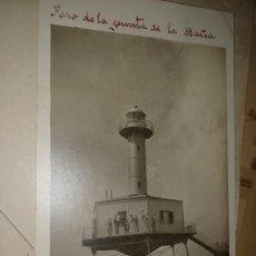 Postais: FARO DE LA BANYA TARRAGONA ANTIGUA POSTAL 1936 GUERRA FARO DE LA BANYA TARRAGONA AÑO 1916. Lote 295342633