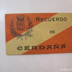 Postales: CERDAÑA-CERDANYA-BLOC AMB 12 POSTALS ANTIGUES-PUIGCERDA-LLIVIA-DAS-BOLVIR...ETC-VER FOTOS-(85.139). Lote 295354878