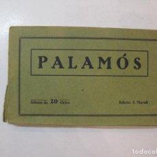 Postales: PALAMOS-EDICIO F.MARULL-BLOC CON 20 POSTALES ANTIGUAS-VER FOTOS-(85.141). Lote 295355738