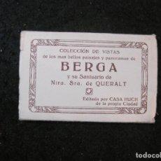 Postales: BERGA-SANTUARIO NTRA SRA DE QUERALT-MINI BLOC CON 15 FOTOGRAFIAS ANTIGUAS-VER FOTOS-(CR-2696). Lote 295356768