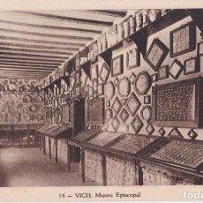 Postales: VIC, MUSEU EPISCOPAL - HUECOGRABADO MUMBRU Nº14 - S/C. Lote 295366958