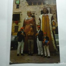 Postales: POSTAL VILAFRANCA DEL PANADES.- GIGANTES CIRCULADA. Lote 295383803
