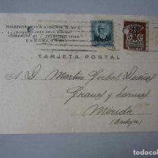 Postales: TARJETA POSTAL BARCELONA. Lote 295486193