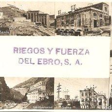 Postales: RIEGOS Y FUERZA DEL EBRO, S.A.. Lote 295496258