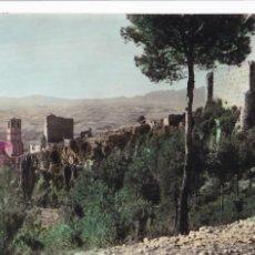 Postales: BARCELONA, GELIDA EL CASTILLO (RUINAS). ED. TORNÉ Nº 22. BYN COLOREADA. CIRCULADA. Lote 295503818