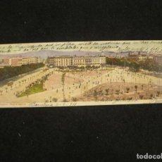 Postales: BARCELONA-PLAZA DE CATALUÑA-DOBLE-POSTAL ANTIGUA-(85.193). Lote 295528193