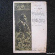 Postales: CATALANS ILUSTRES-AGUSTI QUEROL-NASCUT A TORTOSA-POSTAL ANTIGUA-(85.196). Lote 295529563