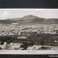 Postales: TARRASA-PANORAMICA-FOTOGRAFICA ZERKOWITZ-11-POSTAL ANTIGUA-(85.236). Lote 295534648
