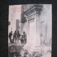 Postales: OLESA DE MONTSERRAT-FONT DE LA PLASSA DE LA CONSTITUCIO-ATV 2682 A.T.V.-POSTAL ANTIGUA-(85.239). Lote 295534893