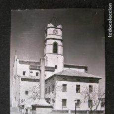 Postales: LLINAS DEL VALLES-IGLESIA PARROQUIAL-EXCL NOGUERAS-FOTO ALFONSO-7-POSTAL ANTIGUA-(85.240). Lote 295534963