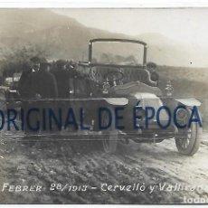 Postales: (PS-66570)POSTAL FOTOGRAFICA CERVELLO Y VALLIRANA.FEBRER 28/1913. Lote 295705968