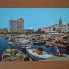 Postales: PALAMÓS (GIRONA) - PUERTO (ESCRITA Y CIRCULADA). Lote 295793968