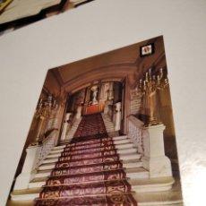 Postales: POSTAL TEATRO DEL LICEO ESCALINATA. Lote 295862008