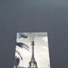 Postales: LOTE AB BARCELONA POSTAL BARCELONA - MONUMENTO A CRISTOBAL COLÓN - FOTO CEBOLLERO. Lote 295985198