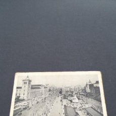 Postales: LOTE AB BARCELONA POSTAL PLAZA DE LA UNIVERSIDAD Y CALLE CORTES. Lote 295985593
