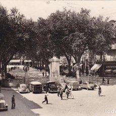 Postales: BARCELONA, FIGUERAS RAMBLA Y MONUMENTO A MONTURIOL. ED. FOTO MELI Nº 1. SIN CIRCULAR. Lote 295986883