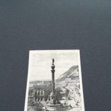 Postales: LOTE AB BARCELONA .- POSTAL BARCELONA- MONUMENTO A COLON ZERKOWITZ. Lote 295987768