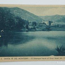 Postales: POSTAL NOVA SANTA FÈ DEL MONTSENY GRAN HOTEL .SENSE CIRCULAR. Lote 295990083