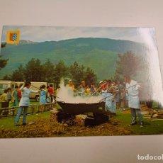 Postales: POSTAL. Nº 4 RIBES DE FRESER. APLEC DE SANT ANTONI. ANYS 60 - 70 BARCELONA. ESCUDO DE ORO.. Lote 296565553