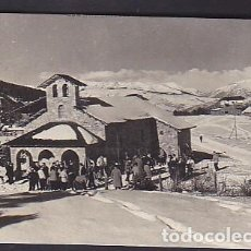 Postales: POSTAL LA MOLINA CAPILLA DE LA VIRGEN DE LAS NIEVES EN SUPER-MOLINA. Lote 296629953