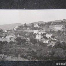 Postales: BARCELONA-VALLVIDRERA-VISTA PARCIAL (SUR)-FOTOGRAFICA-POSTAL ANTIGUA-(85.351). Lote 296892458