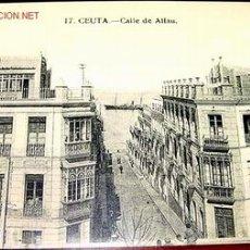 Postales: ANTIGUA POSTAL DE CEUTA - CALLE DE ALFAU. Lote 9193819
